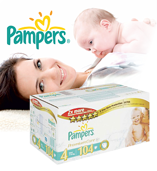 Pampers Premium Care (Maxi),<br>104 шт